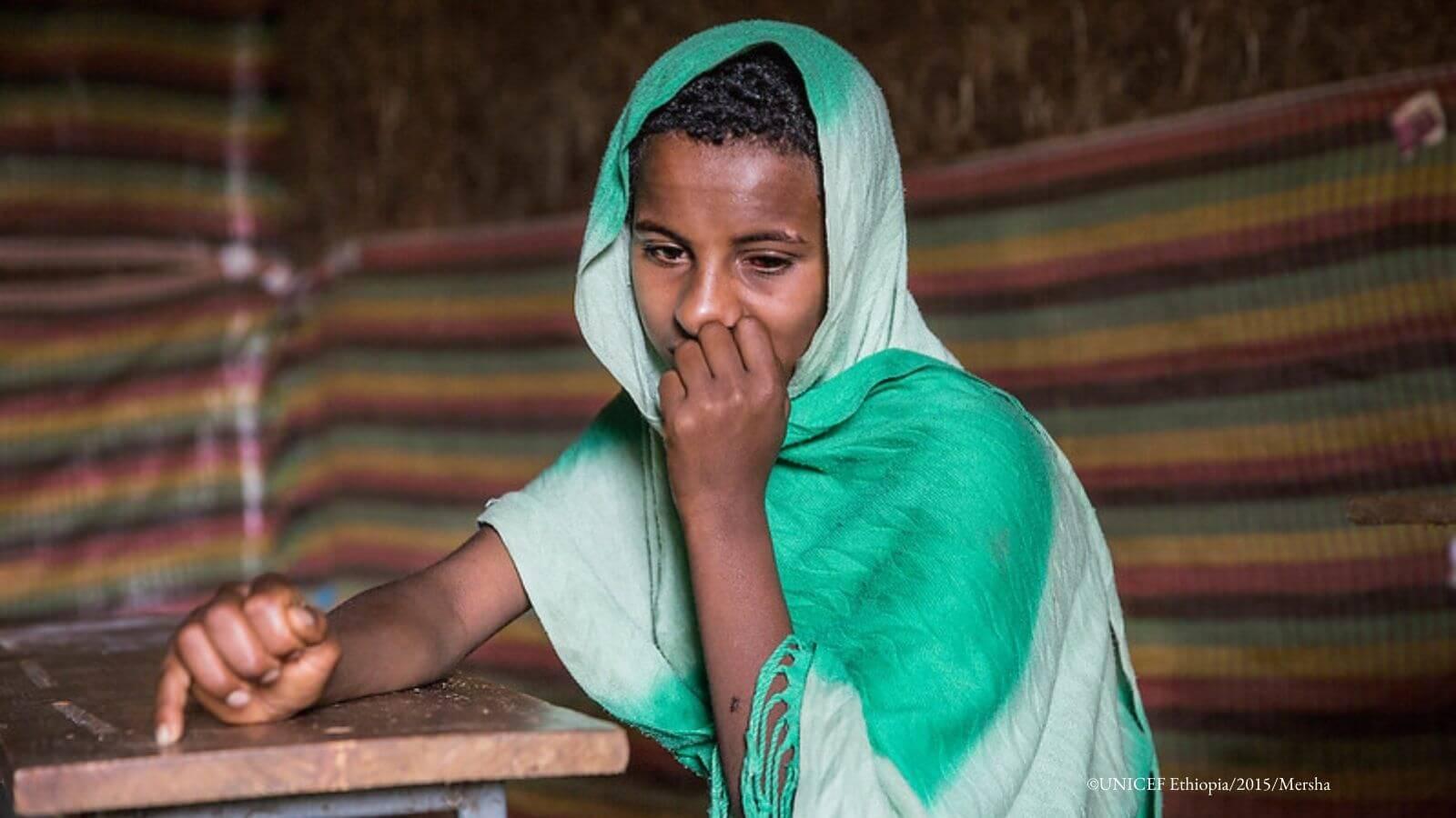 Amhara region - boy